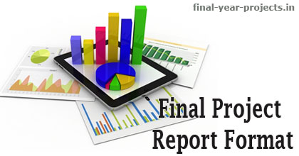 final project report format template final year project ideas